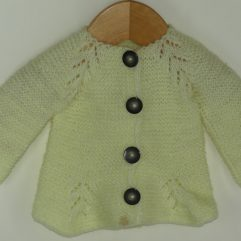 Buy Hand-knitted Yellow Sweater Online India - The Village Naturals