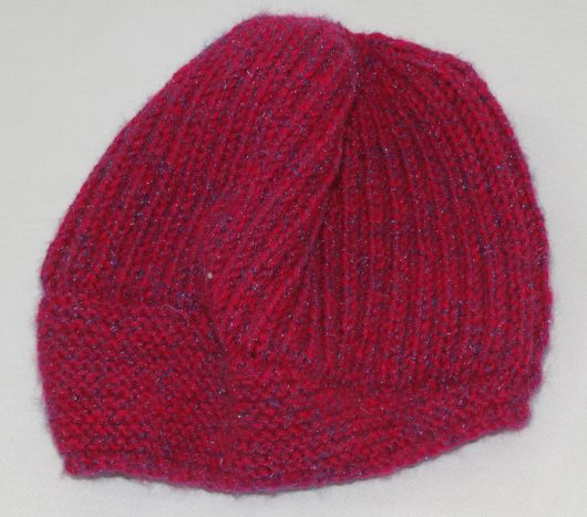 Buy Hand Knitted Red Woolen Cap Online India - The Village Naturals