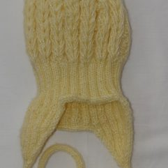 Buy Hand knitted Yellow Woolen Cap Online India - The Village Naturals