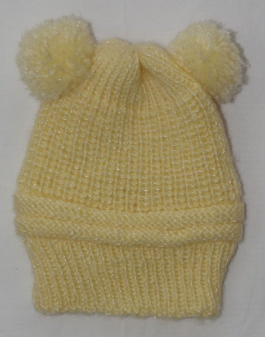 Buy Hand knitted Yellow Cap Online India - The Village Naturals
