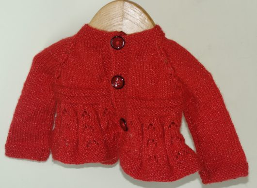 Buy Hand-knitted Rust Red Sweater Online India - The Village Naturals