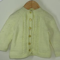 Buy Hand Knitted Light Yellow Sweater Online India - The Village Naturals