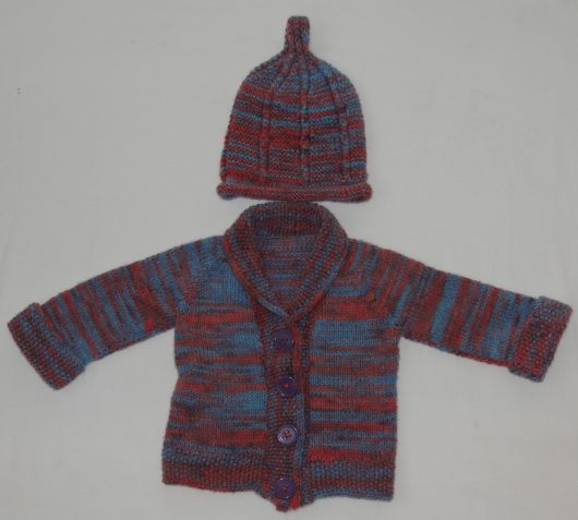 Buy Hand Knitted Multicolor Sweater Online India - The Village Naturals