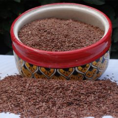 Buy Organic Alsi (Flax Seeds) Online India - The Village Naturals