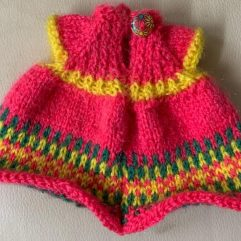 Buy Hand Knitted Woolen Doll Dress Online India - The Village Naturals
