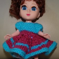Buy Hand Knitted Doll Dress Online India - The Village Naturals