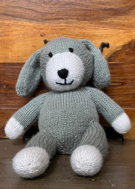 Buy Hand Knitted Soft Toy Bunny Online India - The Village Naturals