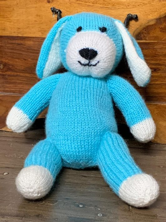Buy Hand Knitted Soft Toy Dog Online India - The Village Naturals