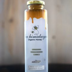 Buy Organic Cinnamon Infused Honey Online India - The Village Naturals