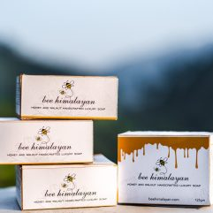 Buy Honey Walnut Hand Crafted Soap Online India - The Village Naturals