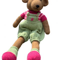 Buy Hand-Knitted Big Teddy Bear Online India - The Village Naturals