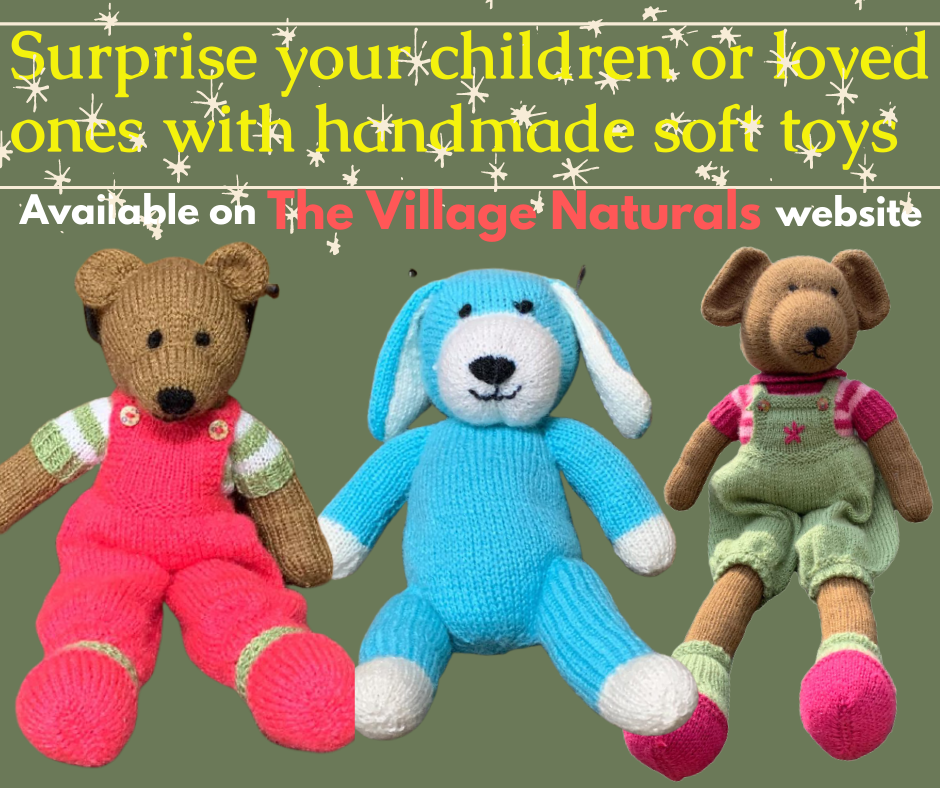 Buy hand-knitted woolen toys online india