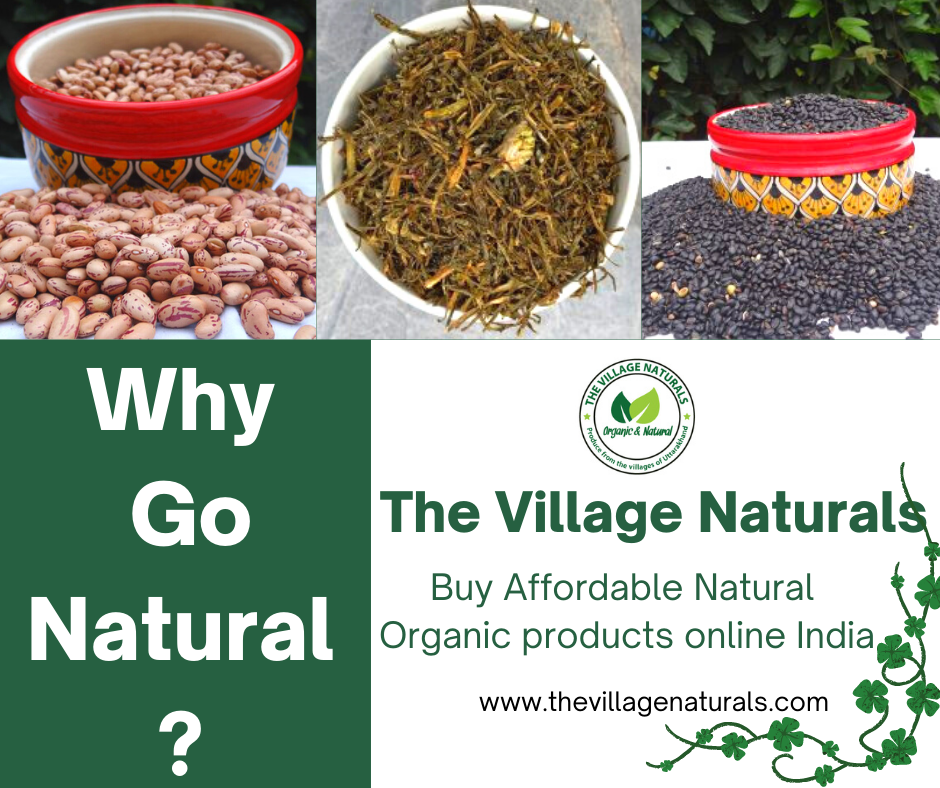 Why Go Natural? - The Village Naturals