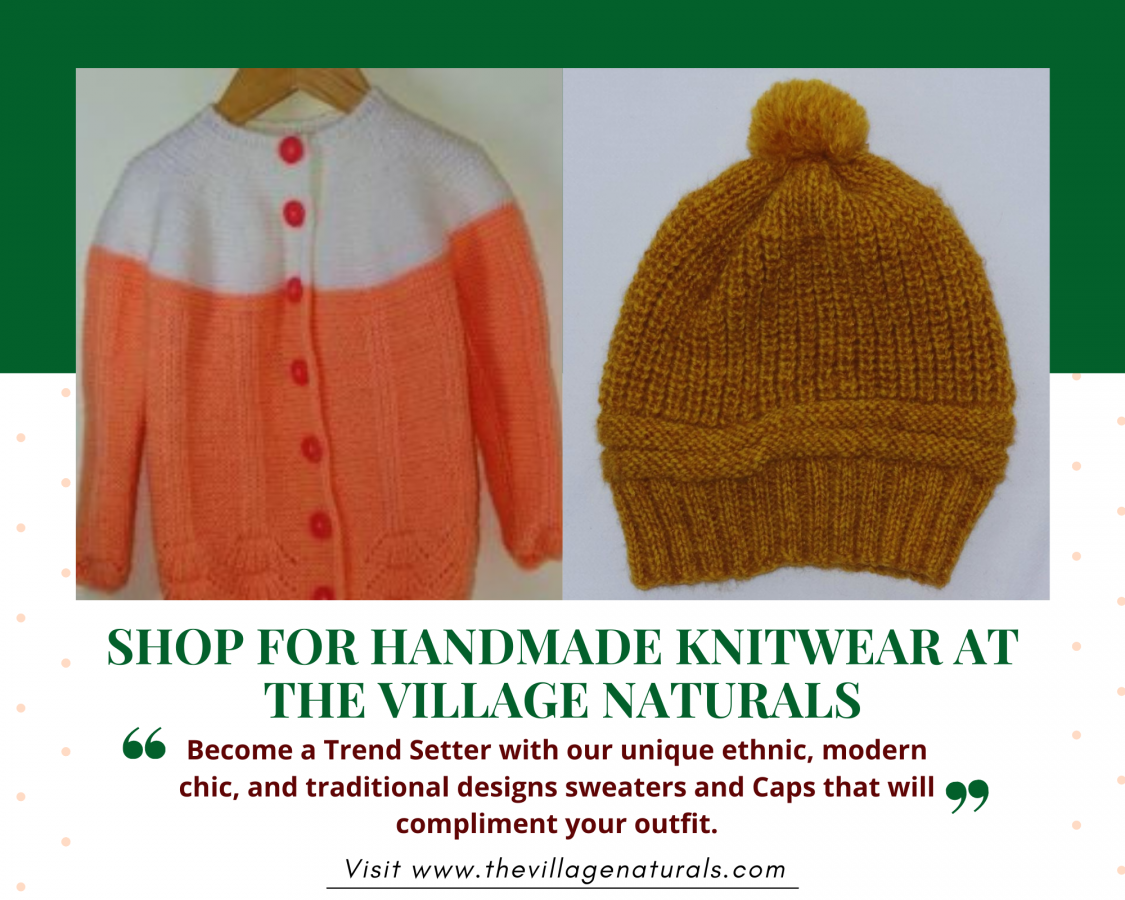 Shop for Handmade Knitwear at The Village Naturals -The Village Naturals