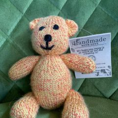 Buy Hand Knitted Cute Teddy Bear Online India - The Village Naturals