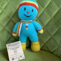 Buy Hand Knitted Soft Toy Snowman Online India - The Village Naturals